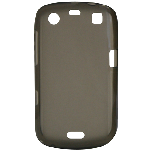 Exian Blackberry Curve 9360 TPU Case Frosted Transparent Grey