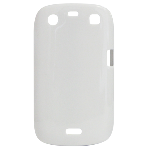 Exian Blackberry Curve 9360 TPU Case Solid Color White