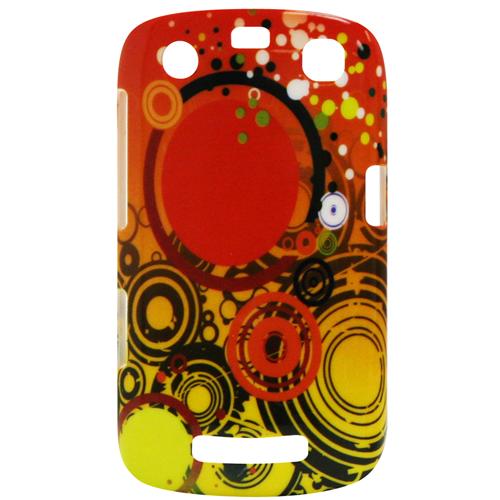 Exian Blackberry Curve 9360 Hard Plastic Case Exian Design Multi Color Orange