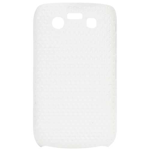 Exian Blackberry Bold 9700 Soft Plastic Case Net Design White