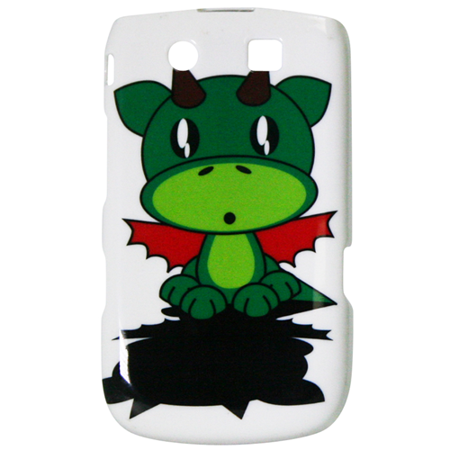 Exian Blackberry Torch 9800 Hard Plastic Case Exian Design Cartoon Dragon
