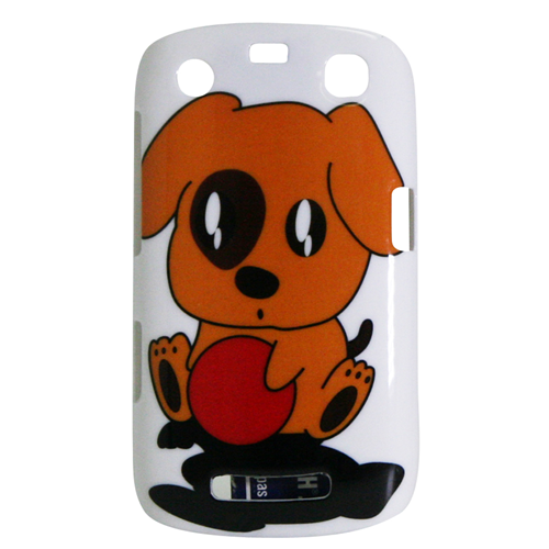 Exian Blackberry Curve 9360 Hard Plastic Case Exian Design Puppy