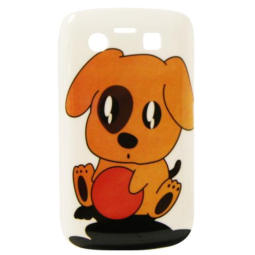 Exian Blackberry Bold 9700 Hard Plastic Case Exian Design Puppy