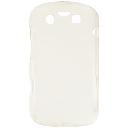 Exian Fitted Soft Shell Case for Blackberry Bold 9790 - Clear