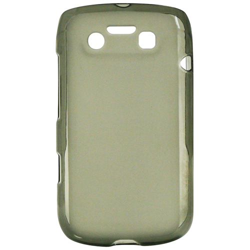 Exian Blackberry Bold 9790 TPU Case Frosted Transparent Grey