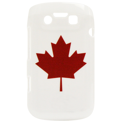 Exian Fitted Hard Shell Case for Blackberry Bold 9790 - White