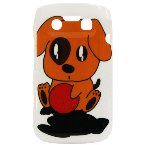 Exian Blackberry Bold 9790 Hard Plastic Case Exian Design Puppy