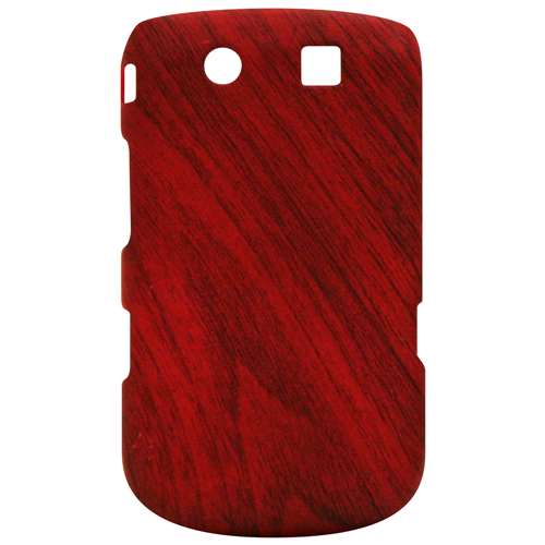 Exian Blackberry Torch 9800 Hard Plastic Case Exian Design Wood Pattern Brown
