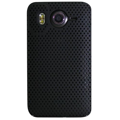 Exian HTC Desire HD Soft Plastic Case Net Design Black