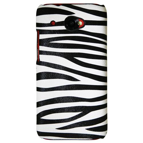Exian HTC Desire 601 Hard Plastic Case Zebra Pattern