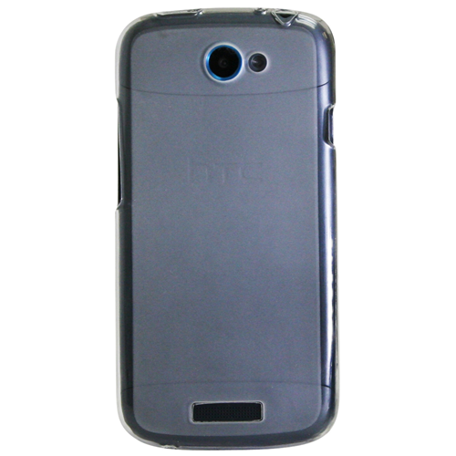 Exian HTC One S TPU Case Frosted Transparent Clear