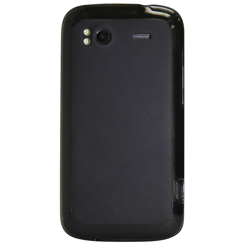 Exian HTC Sensation TPU Case Frosted Transparent Grey