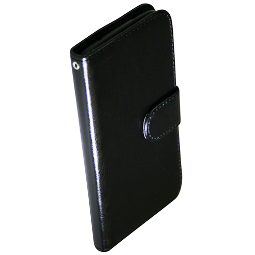 Exian LG G2 PU Leather Wallet Black
