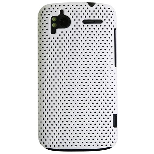 Exian HTC Sensation Soft Plastic Case Net Design White