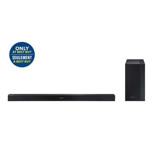 Samsung M430 290-Watt 2.1 Channel Sound Bar with Wireless Subwoofer - Only at Best Buy