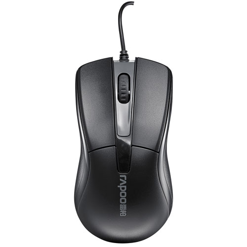 Rapoo N1162 Optical Mouse - Black