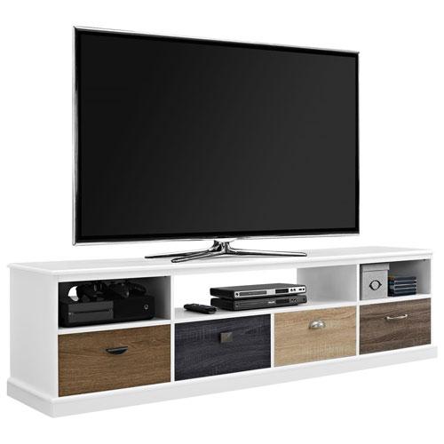 """Dorel Mercer 65"""" TV Stand - White"""