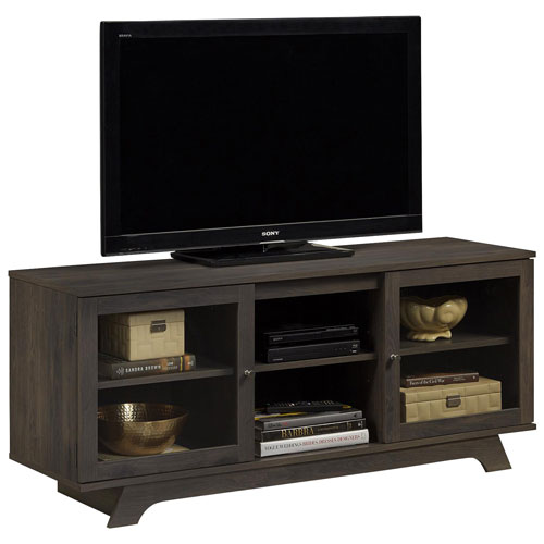 "Dorel Englewood TV Stand for TVs up to 55"" - Brown"