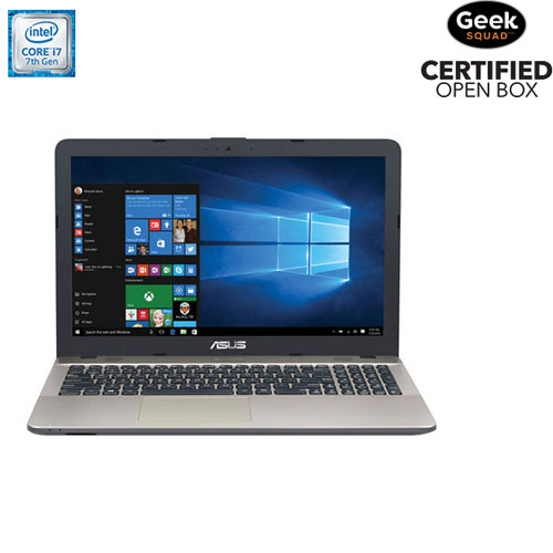 "ASUS VivoBook X541 15.6"" Laptop (Intel Core i7-7500U/1TB HDD/8GB DDR4) - Chocolate Black - Open Box"