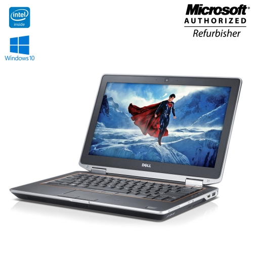 "Dell Latitude E6330, 13.3"" Display, Intel Core i7, 4GB RAM, 128GB SSD, Windows 10 Home - Refurbished"