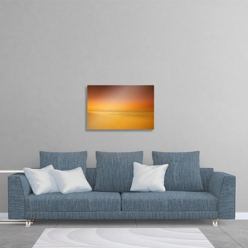 printscapes wall art 36 x 24 metal print sunset on cable beach rh bestbuy ca
