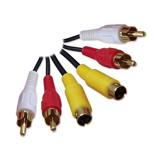 SVideo/RCA Combo A/V Cable - 25ft