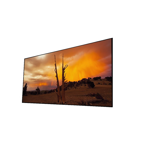 "EluneVision NanoEdge 106"" 1.2-16:9 Fixed-Frame Projector Screen With LED Kit"