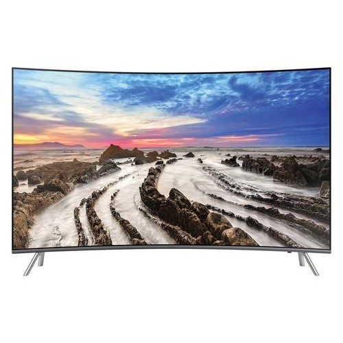 "SAMSUNG 65"" 4K UHD HDR EXTREAM CURVED LED TIZEN SMART TV (UN65MU8500 / UN65MU850D) - REFURBISHED"