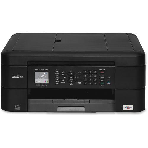 Brother Work Smart Mfc-j480dw Inkjet Multifunction Printer