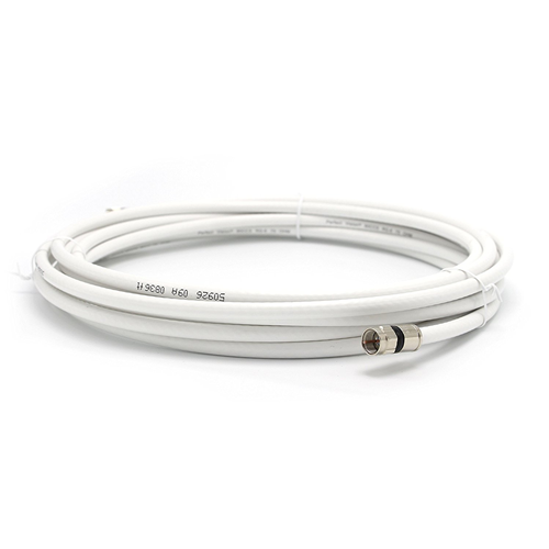 50ft RG6 Coaxial Cable Shielded with Premium Coaxial Connectors