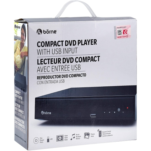 Borne Compact DVD Player