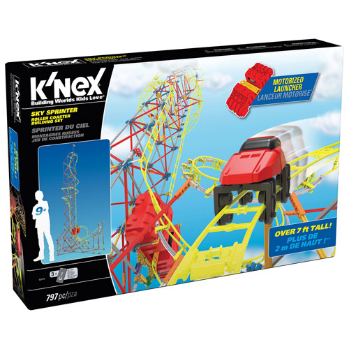 K'NEX Sky Sprinter Roller Coaster Building Set : Other Building Toys ...