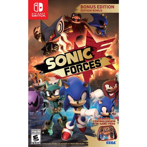 Sonic Forces Bonus Edition (Switch)