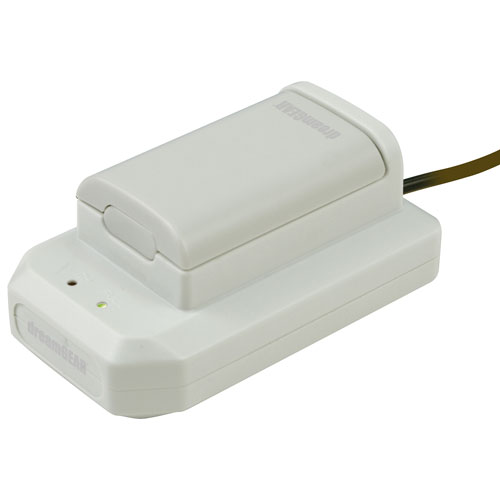 dreamGEAR Power Dock Charging Dock and Rechargeable Battery for Xbox 360 Wireless Controller - White