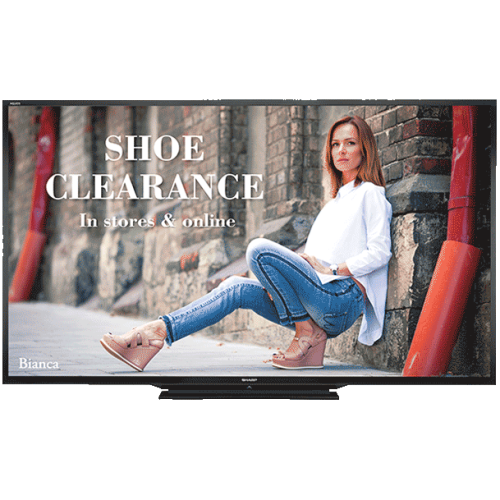 "Sharp 80"" FHD 240 Hz 4 ms GTG LCD Monitor - Black - (PNLE801)"