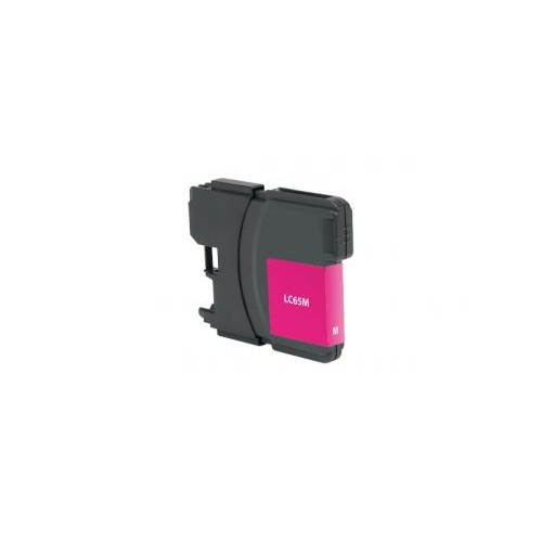 Remanufactured High Yield Magenta Ink Cartridge for Brother LC65 (DPCLC65MCA)