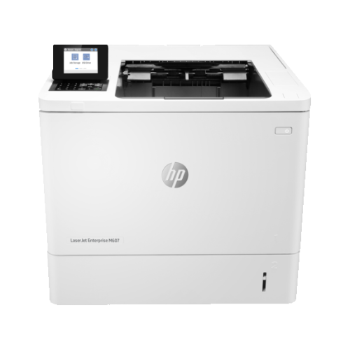 HP LaserJet Enterprise M607n Monochrome Wired Laser Printer - (K0Q14A#BGJ)