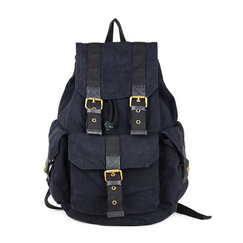 12b47902ea76 Gootium Canvas Backpack - Vintage Rucksack Unisex Casual Daypack ...