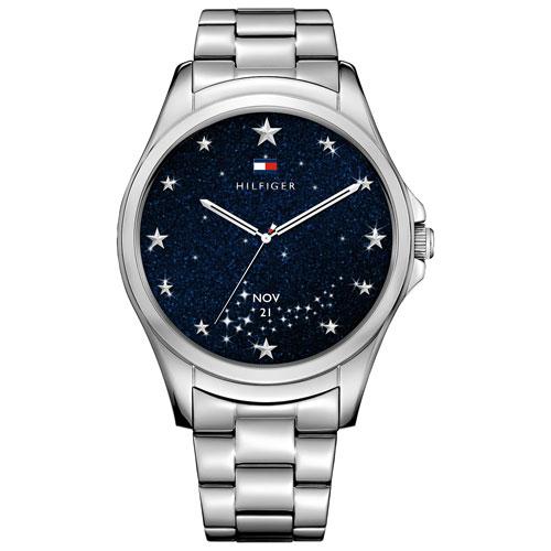 60f7ce02e Tommy Hilfiger TH24 7 YOU 44.5mm Women s Smartwatch - Medium - Silver