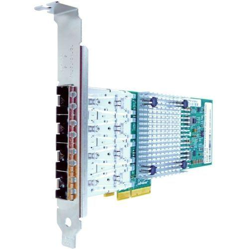Axiom Pcie X4 1gbs Quad Port Fiber Network Adapter - Pci