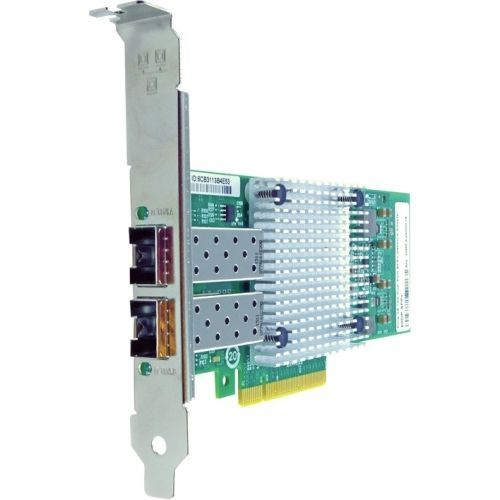 Axiom Pcie X8 10gbs Dual Port Fiber Network Adapter For