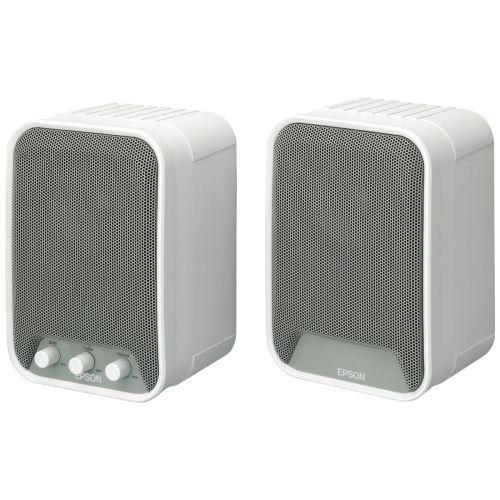 Epson Elpsp02 2.0 Speaker System - 30 W Rms - White - 80 Hz