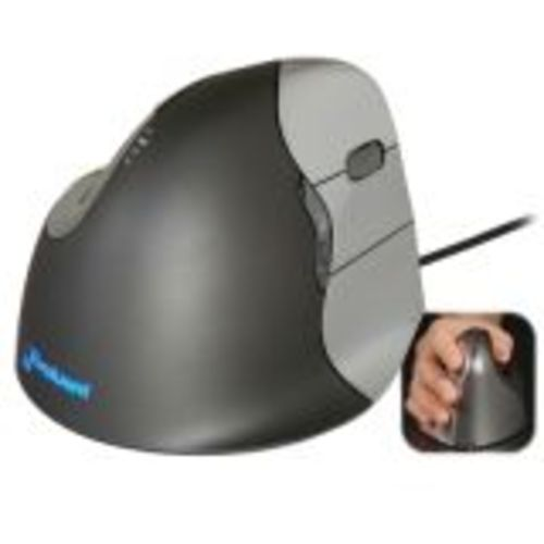Evoluent Verticalmouse 4 Right Mouse - Laser - Cable - Usb