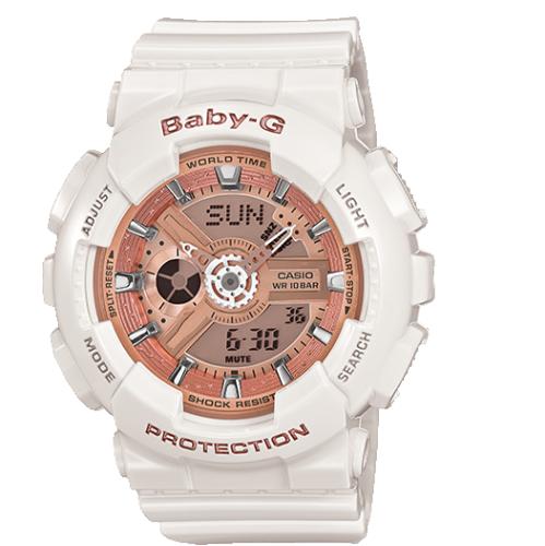 d969b2716ef2 Casio Baby-G Unisex Watch (BA110-7A1) - White   Women s Watches ...