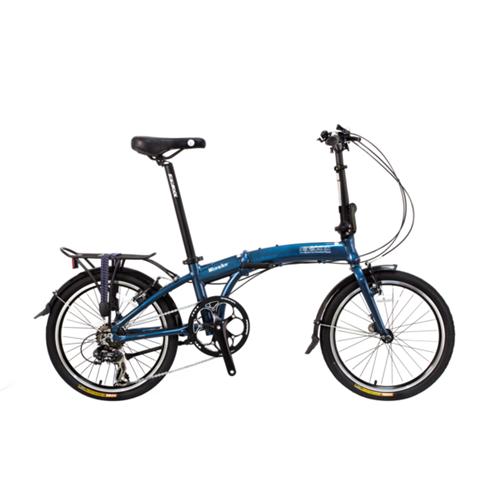 "Wonder - SOLOROCK 20"" 8 Speed Aluminum Folding Bike"