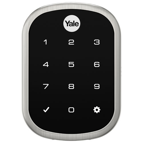 Yale Assure Lock SL Slim Touchscreen Lock (YRD256) - Satin Nickel