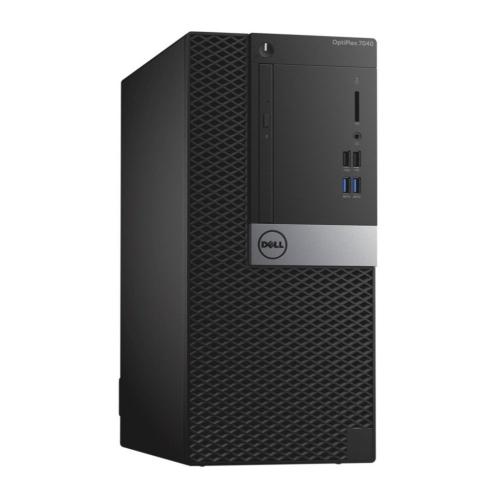 Dell Optiplex 7040 Mini-Tower, Intel 6th Gen Core i5-6500, 8GB RAM, 500GB HDD, DVD, Win10 Pro, 1 Year Warranty -- Refurbished