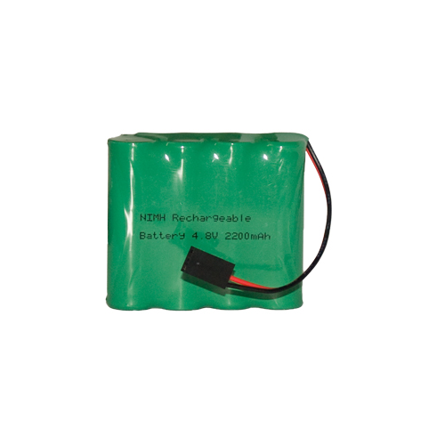 4.8 Volt NiMH Battery Pack with HiTec / JR Connector