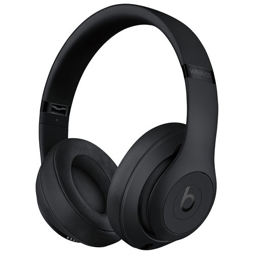 Beats by Dr. Dre Studio 3 Over-Ear Noise Cancelling Bluetooth Headphones - Black