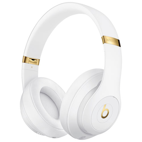Beats by Dr. Dre Studio 3 Over-Ear Noise Cancelling Bluetooth Headphones -  White   Over-Ear Headphones - Best Buy Canada d37417512